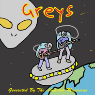 "Greys - ""Generated by the Abducted Musicians"" (2009)"